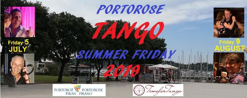 TimeforTango Portorose Summer Friday 2019